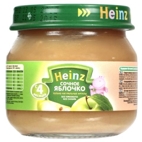Heinz Пюре Сочное яблоко 80 г с 4мес