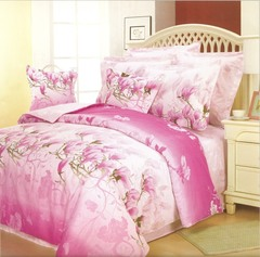 Сатиновое постельное бельё  1,5 спальное Сайлид  В-48