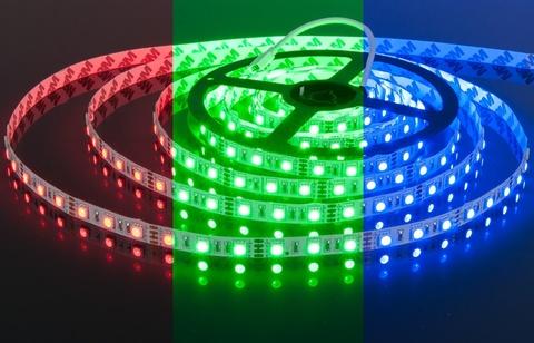 Светодиодная лента RGB 5050 60LED IP33 14.4W 12V