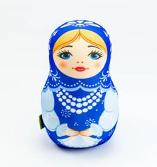 Мягкая игрушка-подушка Gekoko «Матрешка зимняя» 2
