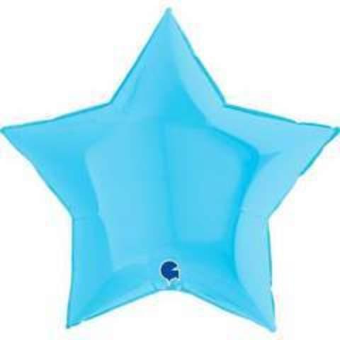 Г Б/РИС ЗВЕЗДА 36/91см Пастель Matte Blue (матовый голубой)