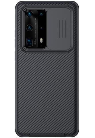 Чехол с защитной шторкой для камеры на Huawei P40 Pro+ от Nillkin серии CamShield Pro Case