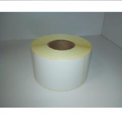 Термоэтикетки 70*40*1000 чистые, втулка 40 мм