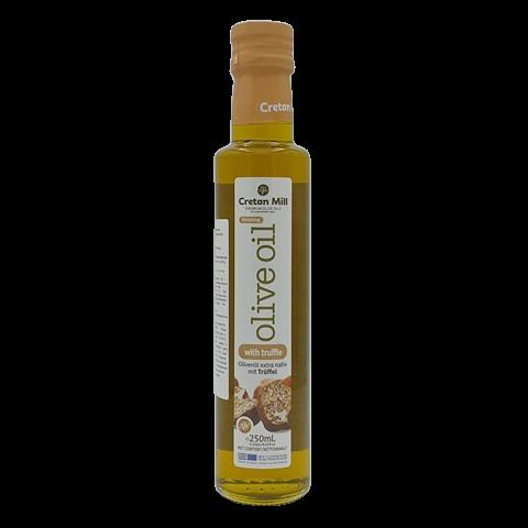 Масло оливковое Extra Virgin с трюфелем нерафинированное CRETAN MILL, 250 мл