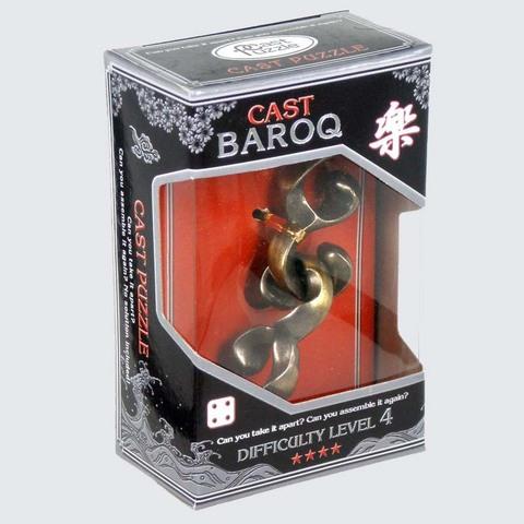 Металлическая головоломка 4-го уровня Cast Puzzle Baroq