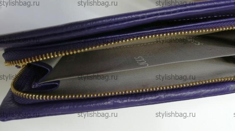 Сиреневый кошелек на молнии JCCS js-3205violet