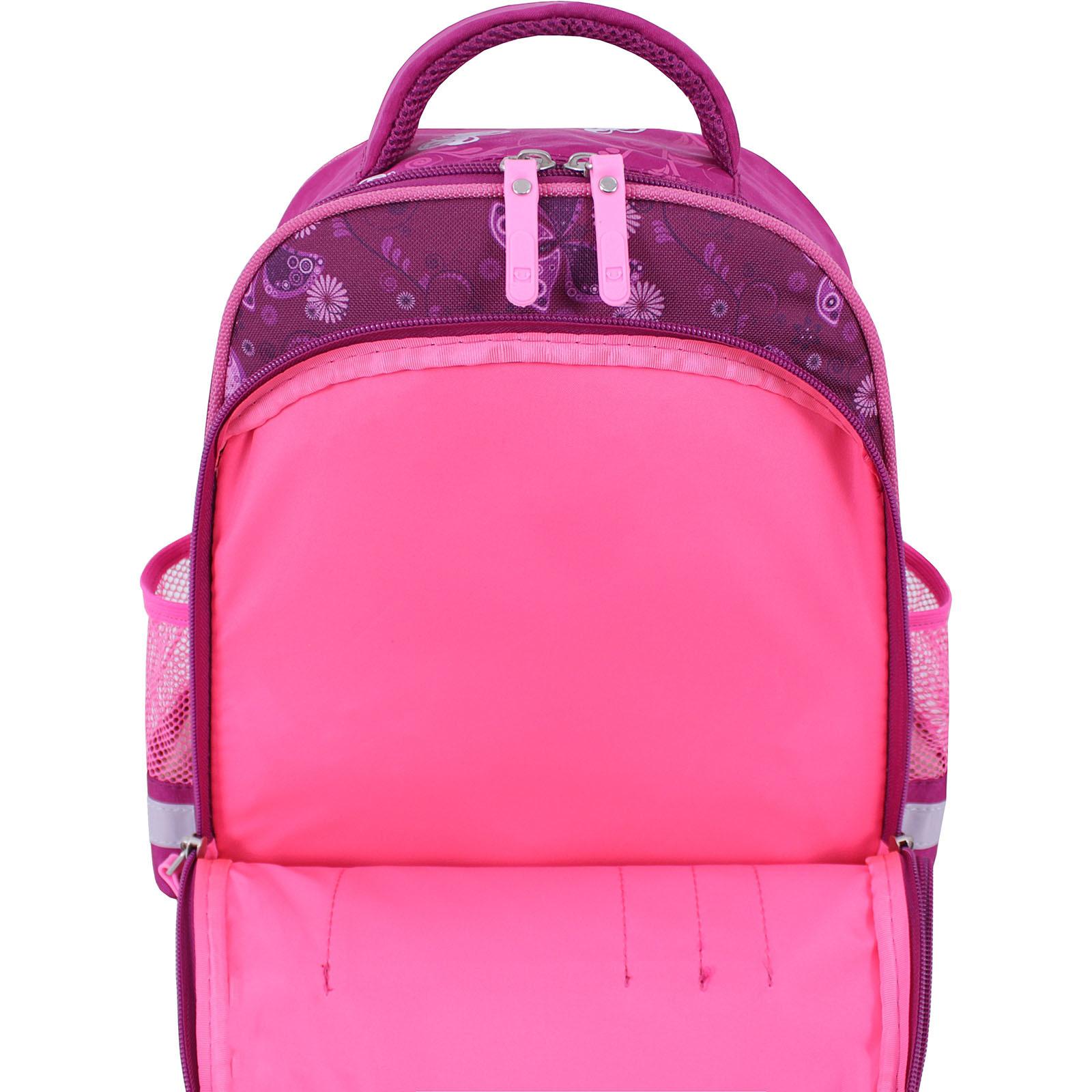 Рюкзак школьный Bagland Mouse 143 малиновый 615 (0051370)  фото 4