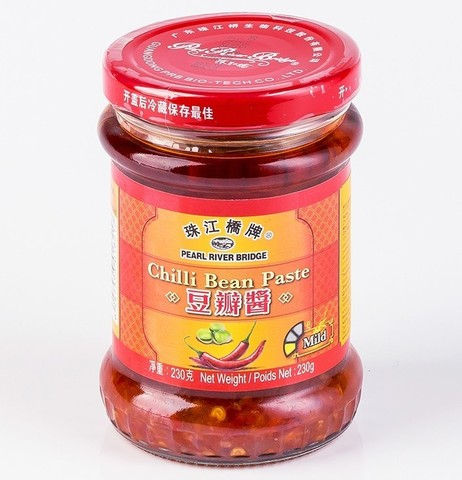 Паста чили с бобами Тобадзян (Chili Bean) PRB, 230г