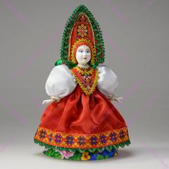 Сувенирная кукла в сарафане