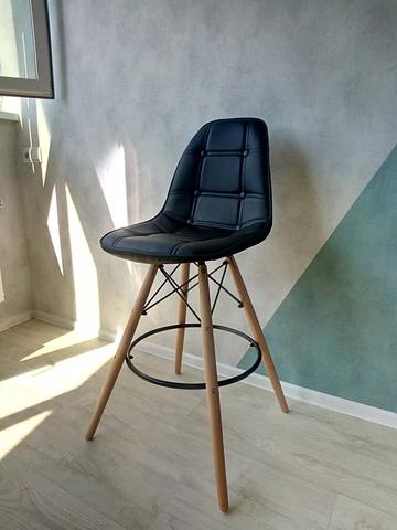 Барный интерьерный стул на четырех ножках Pulsante Long Style