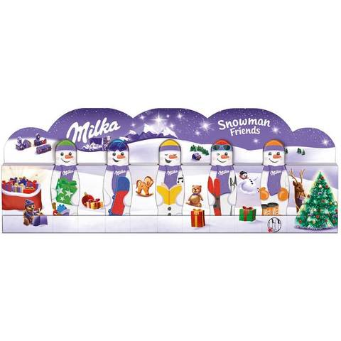 Новогодний набор Milka Snowman friends 75 гр