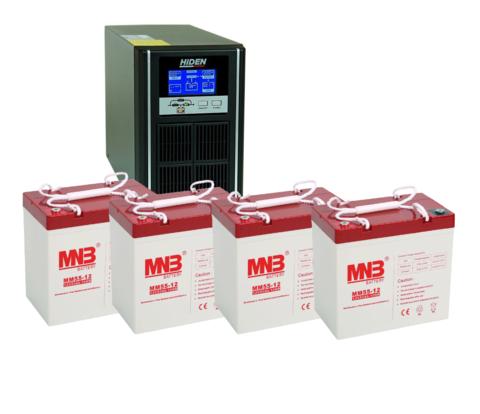 Комплект ИБП UDC9202H-АКБ MM55 (48в, 1600Вт)