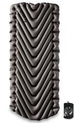 Надувной коврик Klymit Static V Luxe серый