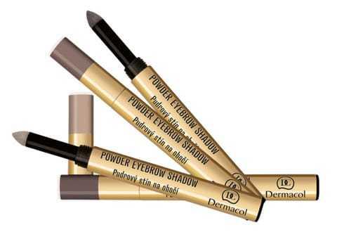 Dermacol Powder Eyebrow Shadow Пудровые тени для идеальной формы бровей, 2гр