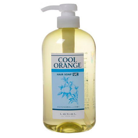 Шампунь для волос  COOL ORANGE HAIR SOAP ULTRA COOL, 600 мл.