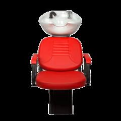 Парикмахерская мойка Елена с креслом Бриз