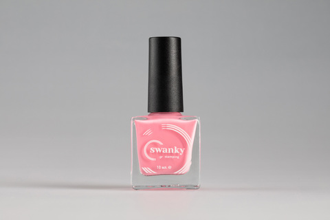 Лак для стемпинга Swanky Stamping №013, светло-розовый, 10 мл.