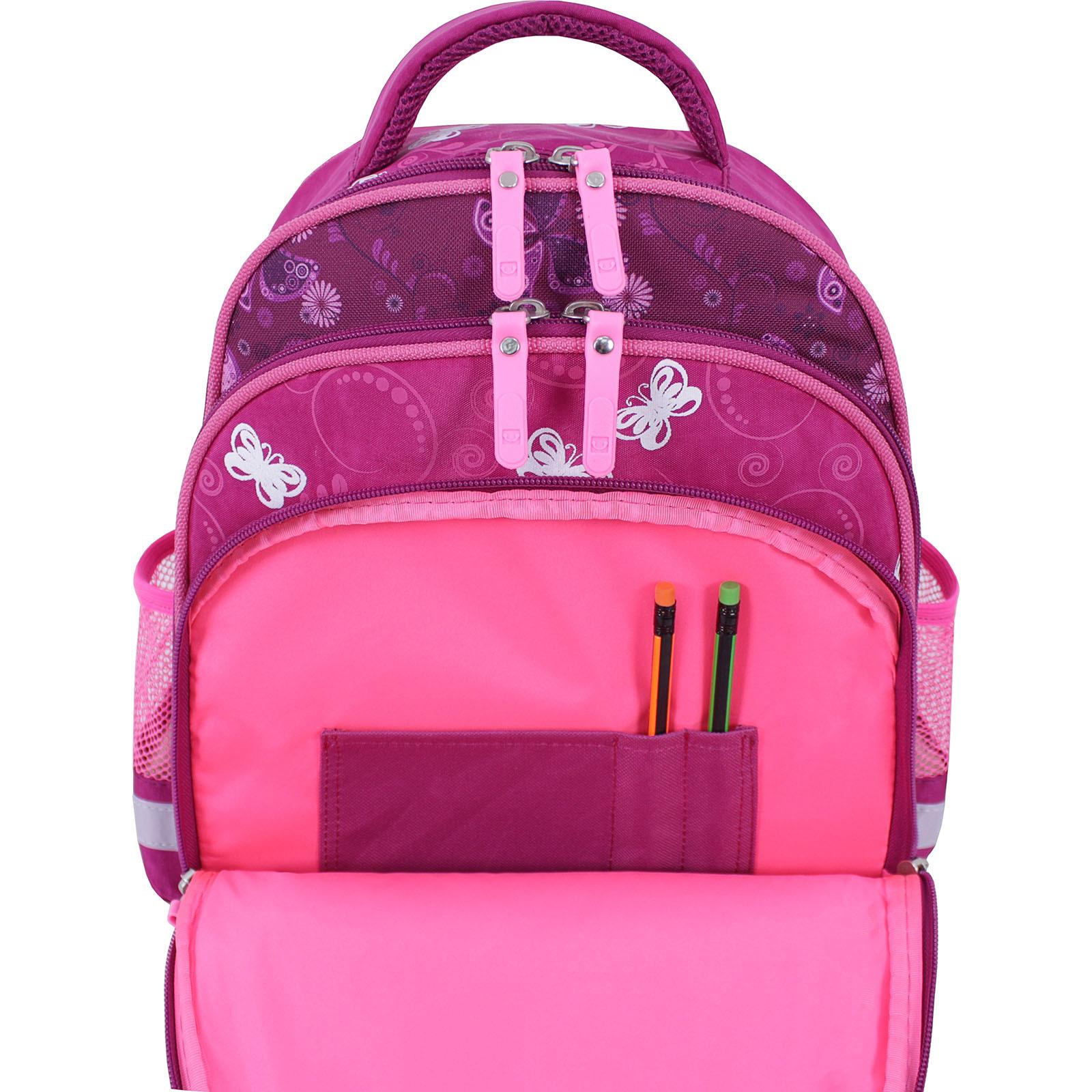 Рюкзак школьный Bagland Mouse 143 малиновый 615 (0051370)  фото 5