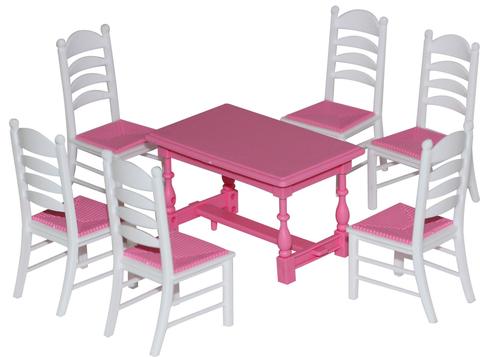 Набор мебели для кукол № 6  7эл в пак/54395