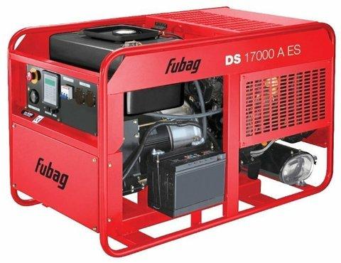 Кожух для дизельного генератора Fubag DS 17000 A ES (12900 Вт)