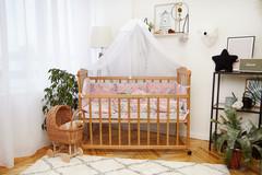 Комплект постельного белья Есо тучка и единорог розовый