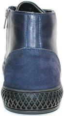 Турецкие мужские ботинки кожаные Luciano Bellini BC2802 L Blue.