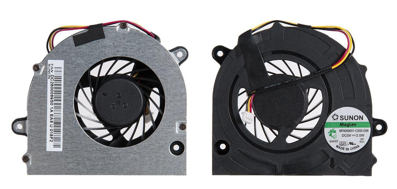 Вентилятор (кулер) для ноутбука Lenovo G450, G450A, G450M, G455, G550, G555