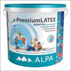 Краска для внутренних работ ALPA Premiumlatex База С (Прозрачный)
