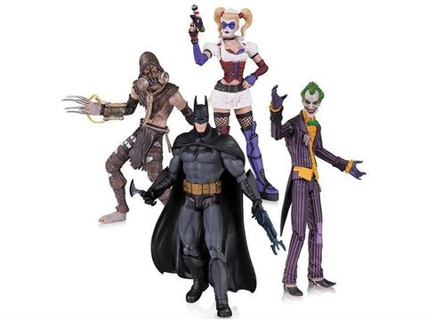 Batman Arkham Asylum: Four Pack