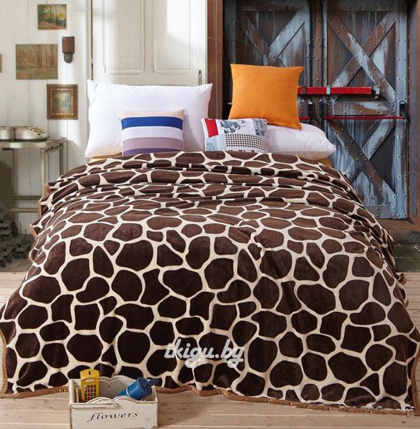 """Мягкие игрушки и подушки Плед """"Жирафовый"""" pled_leo.jpg"""