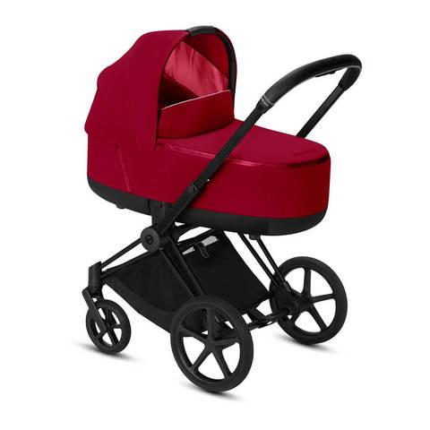 Коляска для новорожденных Cybex Priam III True Red на шасси Matt Black