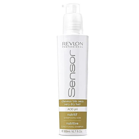 REVLON Sensor: Питательный шампунь-кондиционер для очень сухих волос (Sensor Nutritive Conditioning-Shampoo), 200мл/750мл