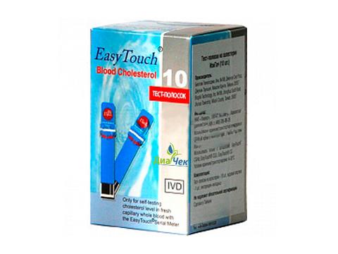 Тест-полоски Изи Тач Холестерин EasyTouch Cholesterol 5 шт