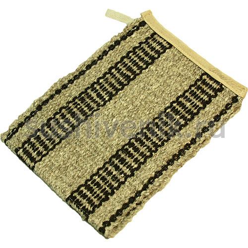 Кесе-перчатка из козьей шерсти (полосатый)