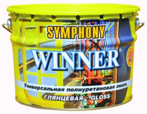 SYMPHONY WINNER – глянцевая полиуретановая универсальная эмаль