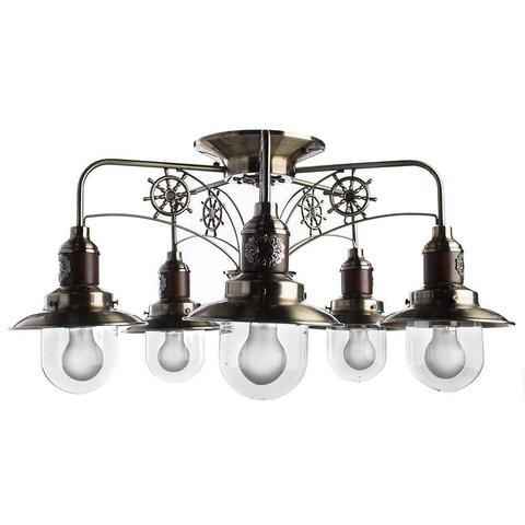 Потолочная люстра Arte Lamp Sailor A4524PL-5AB