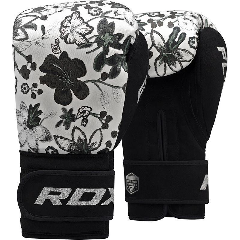 Перчатки Перчатки женские для бокса RDX Boxing Gloves FL-4 Floral White 1.jpg