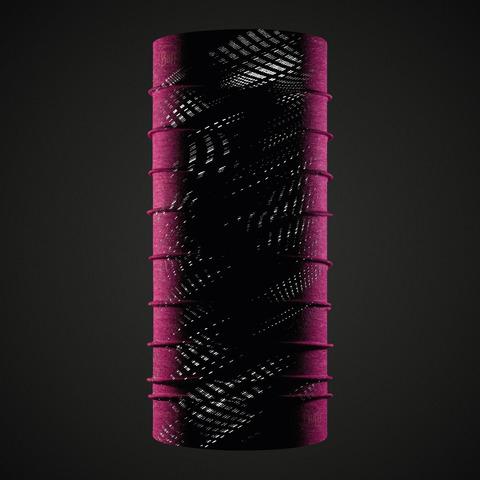 Бандана-труба летняя светоотражающая Buff CoolNet Reflective R-Flash Pink Htr фото 2