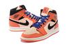 Air Jordan 1 Mid 'Orange/Pink/Black'