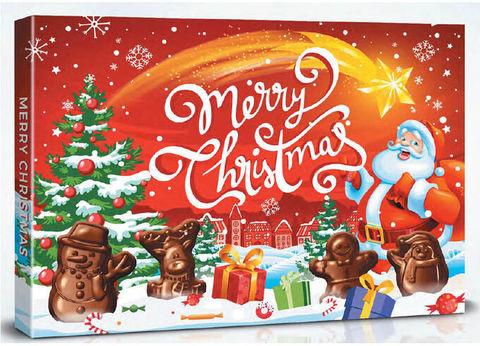 Шоколадные конфеты Merry Christmas 100 гр