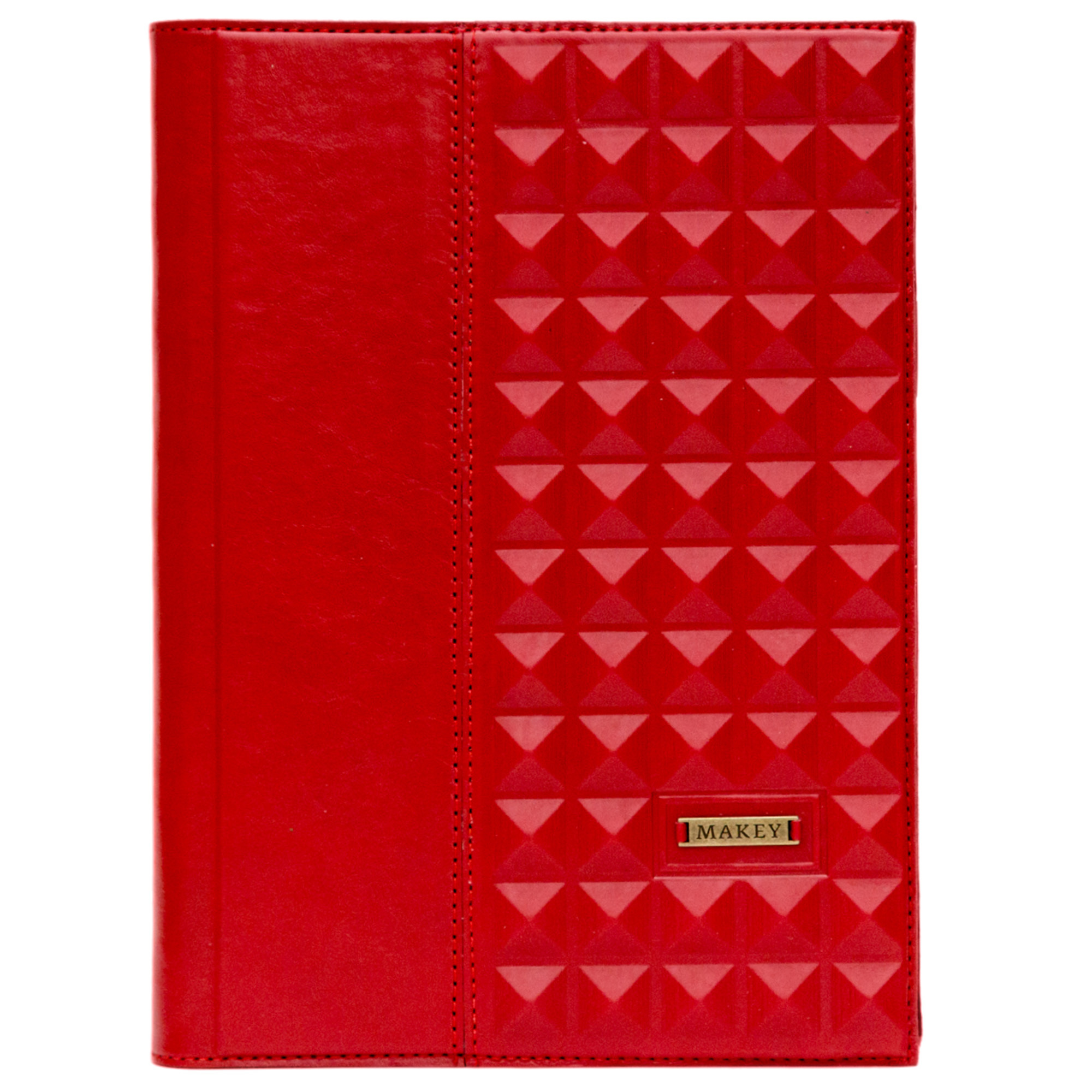 Ежедневник А5   Геометрия   Красный