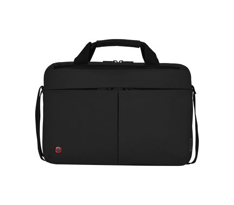Портфель WENGER Format для ноутбука 14 дюймов, цвет чёрный, 39x26x8 см., 5 л. (601079) - Wenger-Victorinox.Ru