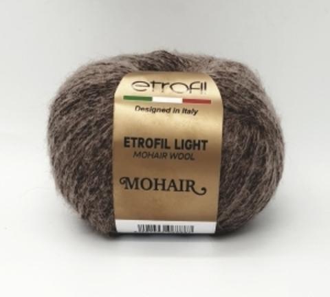 LIGHT MOHAIR ETROFIL ( 40% мохер 40% шерсть, 20% полиамид, 50гр/235м)