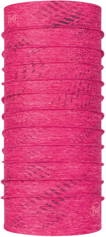 Бандана-труба летняя светоотражающая Buff CoolNet Reflective R-Flash Pink Htr фото 1