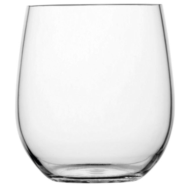 NON SLIP WATER GLASS, CLEAR