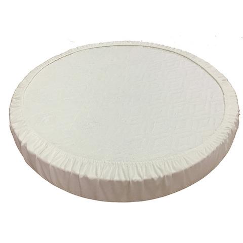 Наматрасник  натяжной круг (махра)