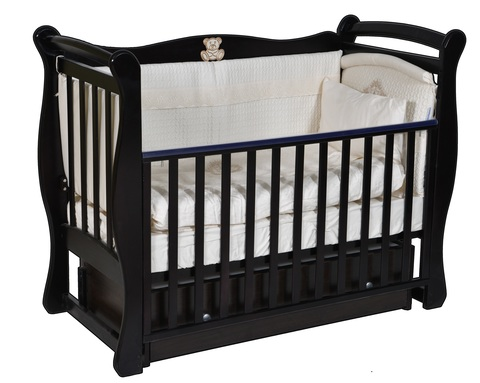 Кровать детская Виолетта V-1 (универсальный маятник, закрытый ящик)