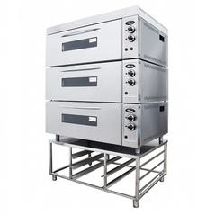 Шкаф жарочно-пекарский GRILL MASTER  ШжЭ/3 (секционный н/сталь) (печь хлебопекарная)