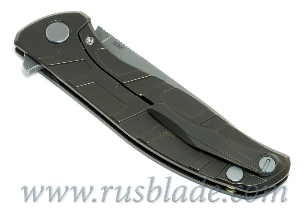 Shirogorov Flipper 95 M390 T-mode w/ bearings - фотография