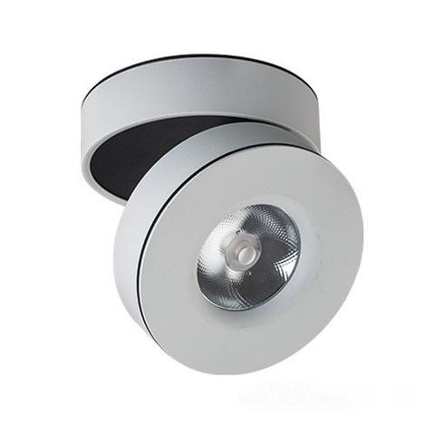 Светодиодный поворотный светильник 7W 3000K 36° M03-005 white MEGALIGHT